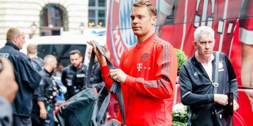 Neuer listo para volver a las canchas del Bayern