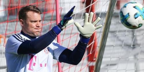 Neuer volvió a los entrenamientos después de más de seis meses