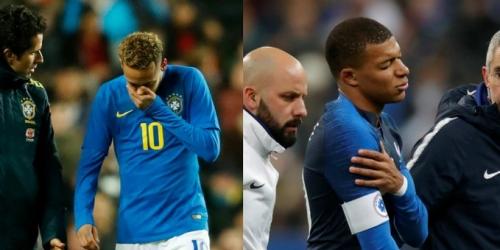 Neymar y Mbappé posibles bajas ante el Liverpool