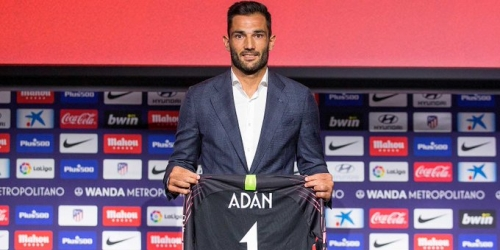 (OFICIAL) Adan fue presentando en el Atlético de Madrid