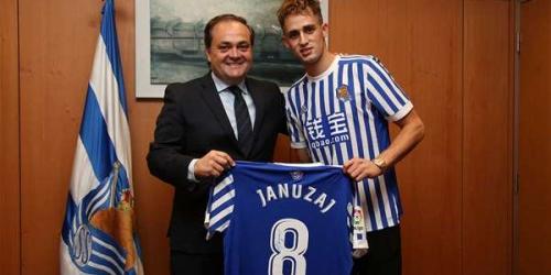 (OFICIAL) Adnan Januzaj, nuevo jugador de la Real Sociedad