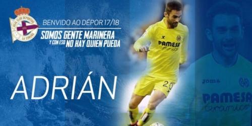 (OFICIAL) Adrian López nuevo jugador del Deportivo La Coruña
