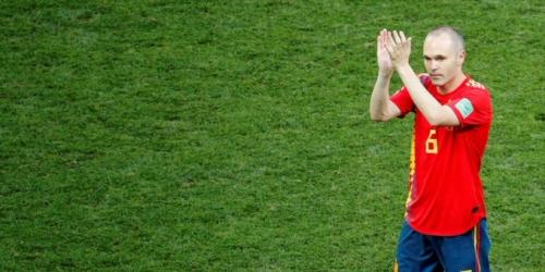 (OFICIAL) Andrés Iniesta se retira de la selección