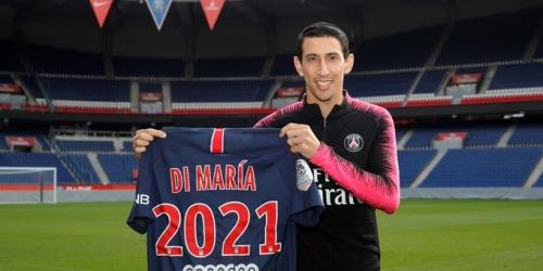 (OFICIAL) Ángel Di María muy cómodo en el PSG