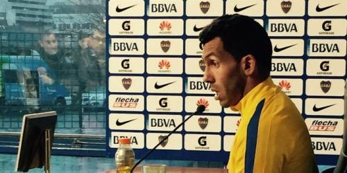 (OFICIAL) Argentina, Tévez dio a conocer su futuro en una rueda de prensa