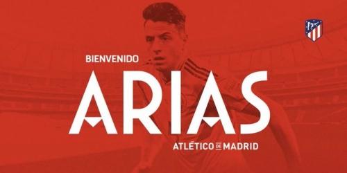 (OFICIAL) Arias nuevo refuerzo del Atlético de Madrid