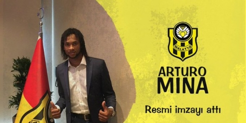 (OFICIAL) Arturo Mina, nuevo jugador del Yeni Malatyaspor túrco