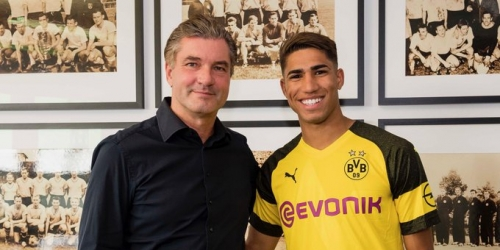 (OFICIAL) Ashcraf Hakimi: del Real Madrid al Borussia Dortmund