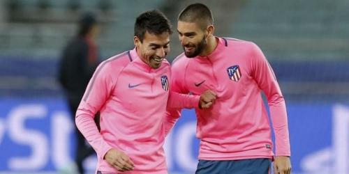 (OFICIAL) Atlético de Madrid se despide de Carrasco y Gaitán