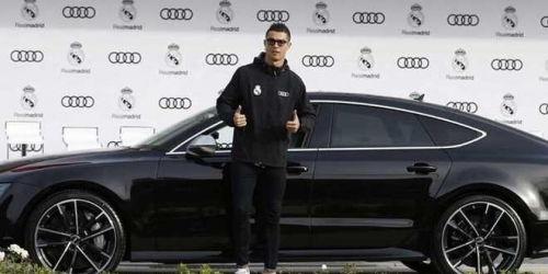 (OFICIAL) Audi entregó sus nuevos modelos al Real Madrid