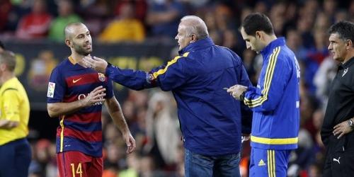 OFICIAL: Barcelona, esta será la sanción a Mascherano (VIDEO)