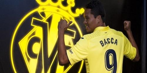(OFICIAL) Carlos Bacca es nuevo jugador del Villarreal CF