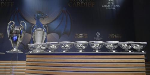 (FOTO) Champions League, estos serán los cruces de los Octavos de Final