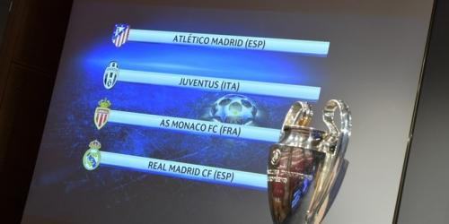 (OFICIAL) Champions League, conoce aquí los cruces de las semifinales!