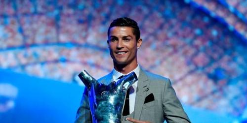 (OFICIAL) Cristiano Ronaldo es elegido Mejor Jugador de la UEFA 2016/2017