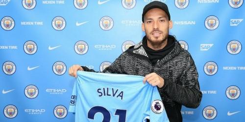 (OFICIAL) David Silva renovó con el Manchester City