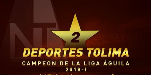(OFICIAL) Deportes Tolima Campeón de la Liga Aguila