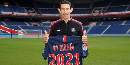 (OFICIAL) Di María firma continuación con el Paris Saint-Germain