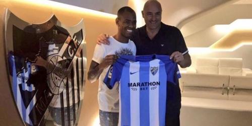 (OFICIAL) Diego Rolán jugará cedido en el Málaga esta temporada
