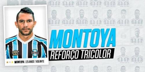 (OFICIAL) El argentino Walter Montoya es nuevo jugador de Gremio