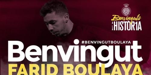 (OFICIAL) El Girona ficha a Farid Boulaya
