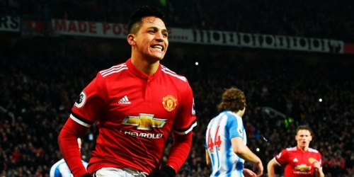 (OFICIAL) El Manchester United le ganó al Huddersfield Town por la Premier League