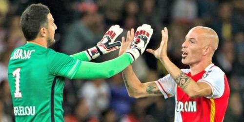 (OFICIAL) El Mónaco anunció la renovación de Danijel Subasic y Andrea Raggi