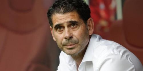 (OFICIAL) España decide terminar lazos con el estratega Fernando Hierro