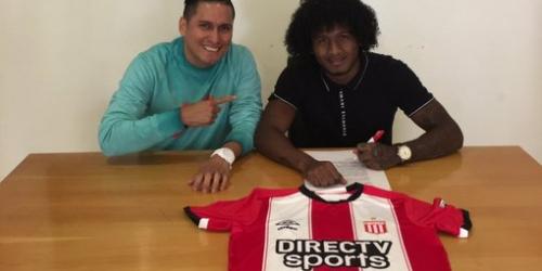 (OFICIAL) Estudiantes de la Plata confirma a Christian Alemán como refuerzo