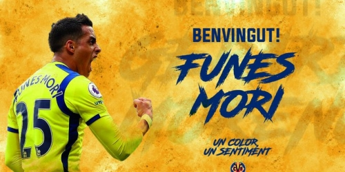 (OFICIAL) Funes Mori nuevo refuerzo del Villarreal