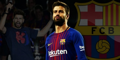 (OFICIAL) Gerard Pique renueva con el FC Barcelona hasta el 2022