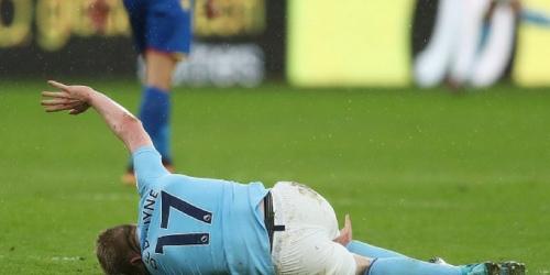(OFICIAL) Guardiola se queda sin De Bruyne por los próximos tres meses