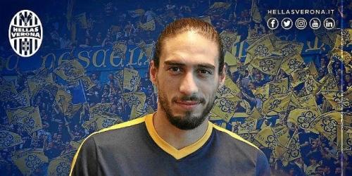 (OFICIAL) Hellas Verona, Martín Cáceres oficializado como nuevo refuerzo
