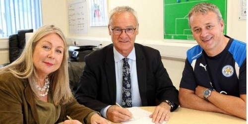 (OFICIAL) Inglaterra, Ranieri renueva con el Leicester