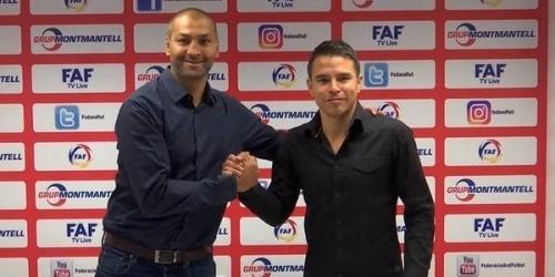(OFICIAL) Javier Saviola estrenará su faceta de entrenador