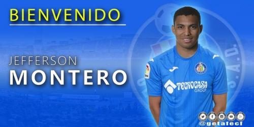 (OFICIAL) Jefferson Montero jugará cedido en el Getafe