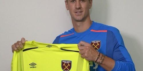 (OFICIAL) Joe Hart jugará en el West Ham
