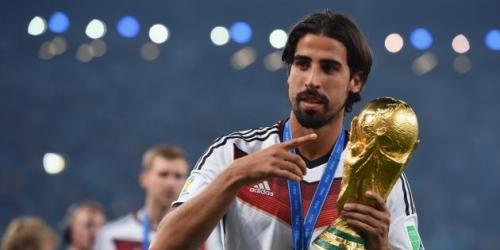 OFICIAL: Juventus, Khedira firmó hasta el 2019