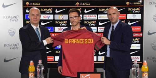 (OFICIAL) La Roma se estrena en el mercado con Di Francesco y Héctor Moreno