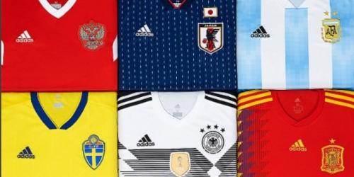 (OFICIAL) Las nuevas camisetas Adidas para el Mundial de Rusia 2018