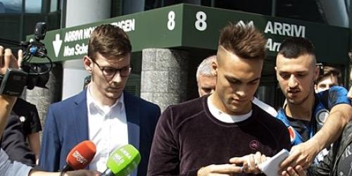 (OFICIAL) Lautaro Martínez ya se encuentra en Milán para firmar su contrato