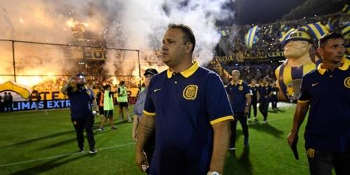 (OFICIAL) Leonardo Fernández renunció a la dirección técnica de Rosario Central