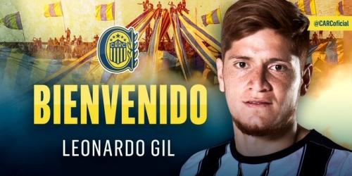 (OFICIAL) Leonardo Gil, nuevo jugador de Rosario Central