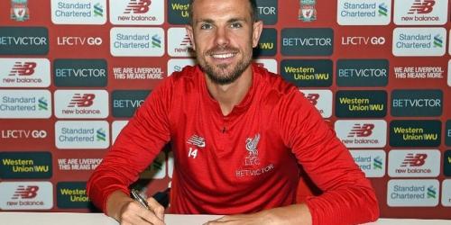 (OFICIAL) Liverpool renueva con su mediocampista Henderson
