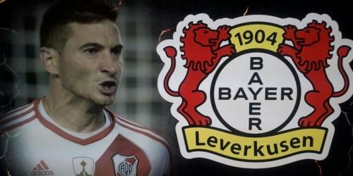 (OFICIAL) Lucas Alario pasa revisión médica con el Bayer Leverkusen