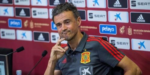 (OFICIAL) Luis Enrique presentó la listade convocados para los partidos ante Gales e Inglaterra