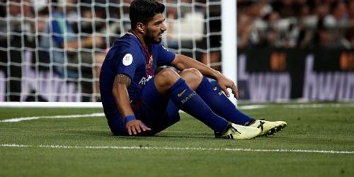 (OFICIAL) Luis Suárez será baja un mes por lesión