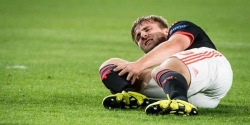 OFICIAL: Luke Shaw será baja por toda la temporada