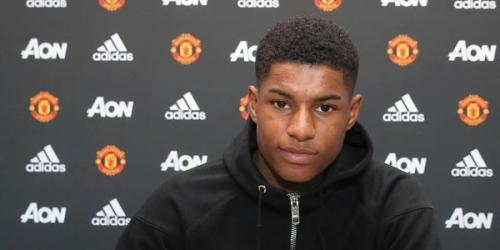 (OFICIAL) Inglaterra, la joven estrella renovó su contrato con el Manchester United