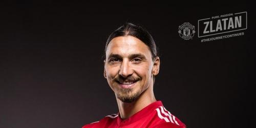 (OFICIAL) Manchester United oficializa a Zlatan Ibrahimovic